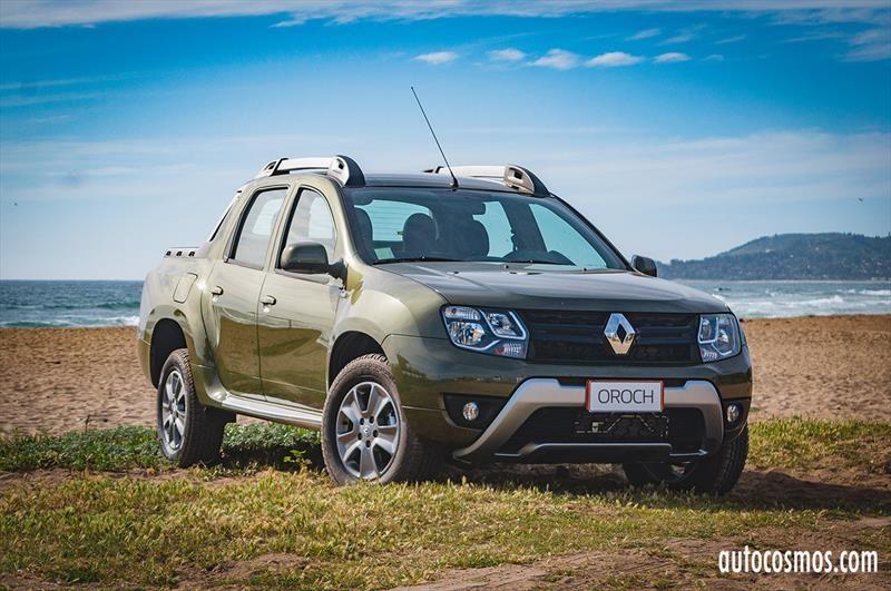 Renault Oroch 2018 - Lanzamiento en Chile