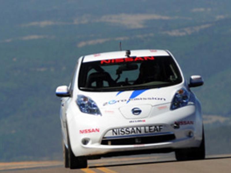 Pikes Peak Nissan Leaf 2011