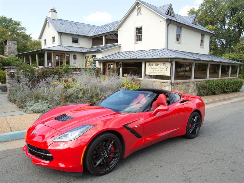 Manejamos el nuevo Chevrolet Corvette Stingray