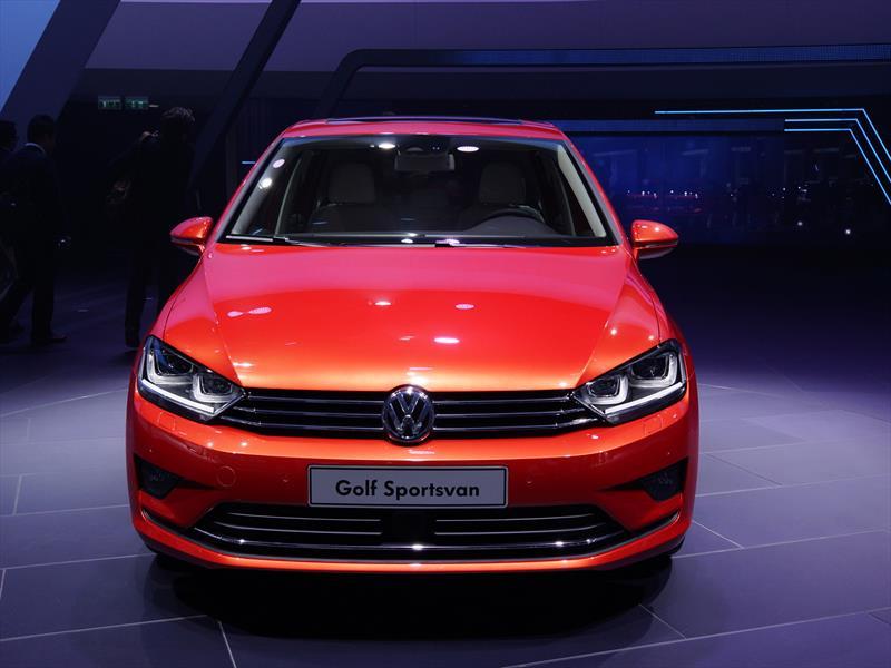 Volkswagen Golf Sportsvan se presenta