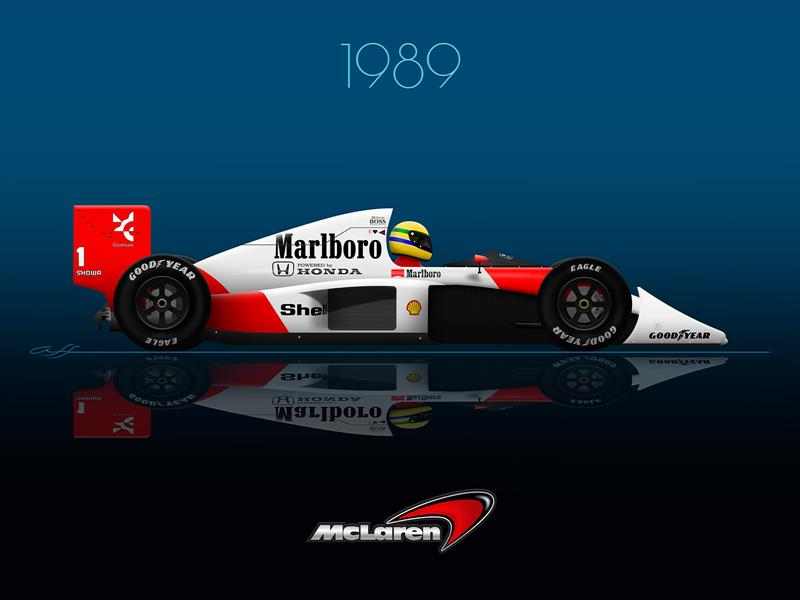 Ganadores GP F1 México 1989