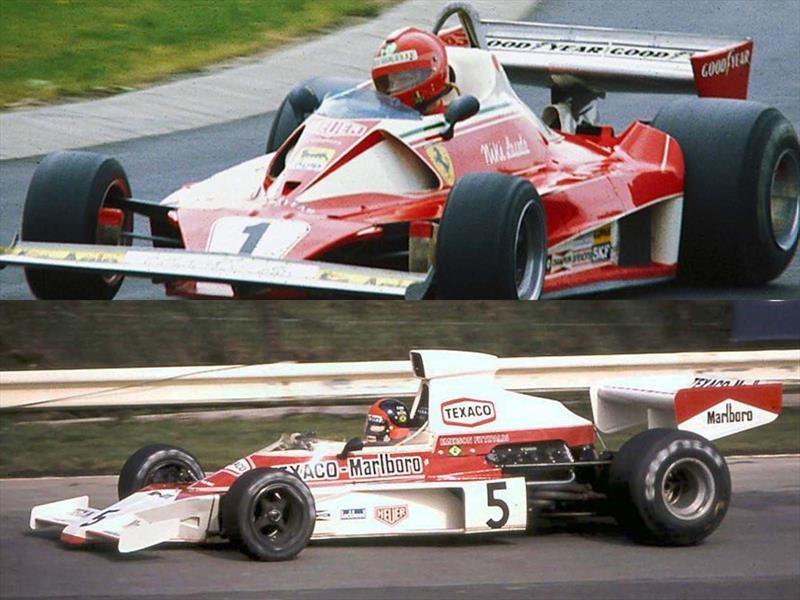 McLaren M23/Ferrari 312 T2 - Duelo de Titanes