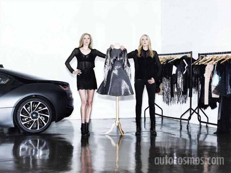 Carbon Dress, el vestido inspirado en el BMW i8