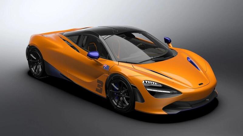 McLaren 720S Daniel Ricciardo Edition