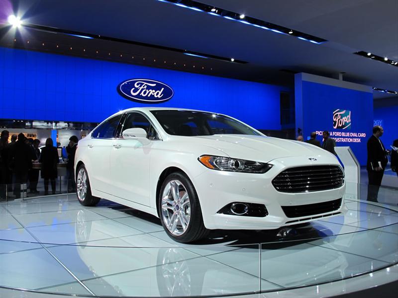 Ford Mondeo / Fusion en el Salón de Detroit