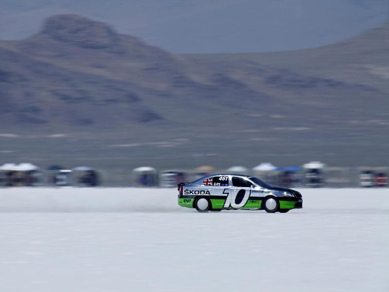 Škoda Octavia vRS en Bonneville, Utah