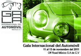 Gala Internacional del Automóvil México 2011
