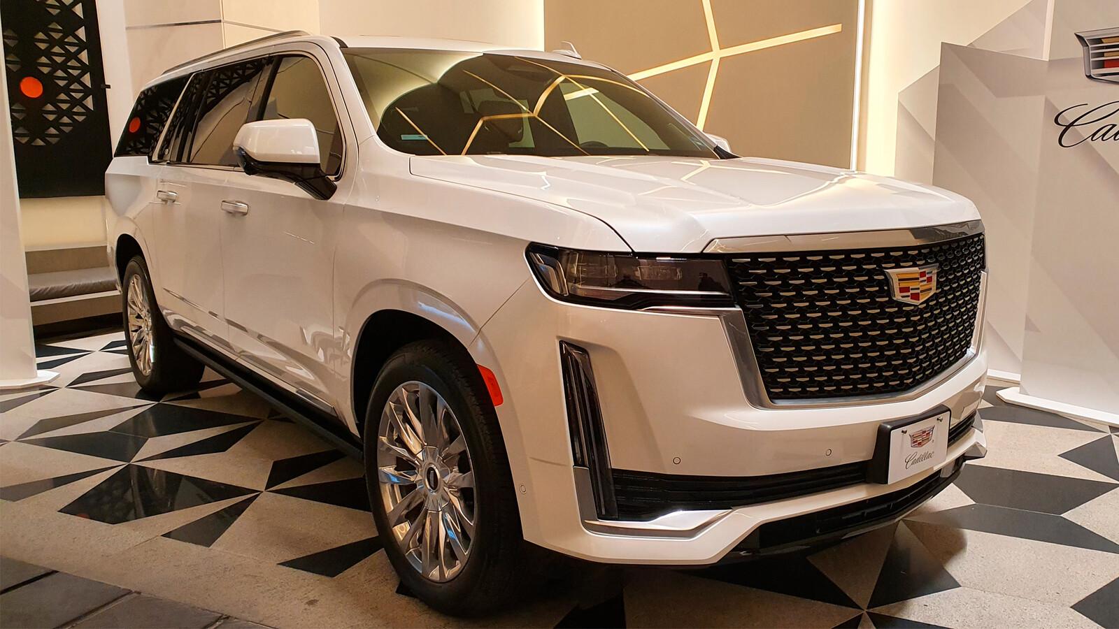 Cadillac Escalade 2021, contacto en México, lujo y tecnología desmesurada que encanta