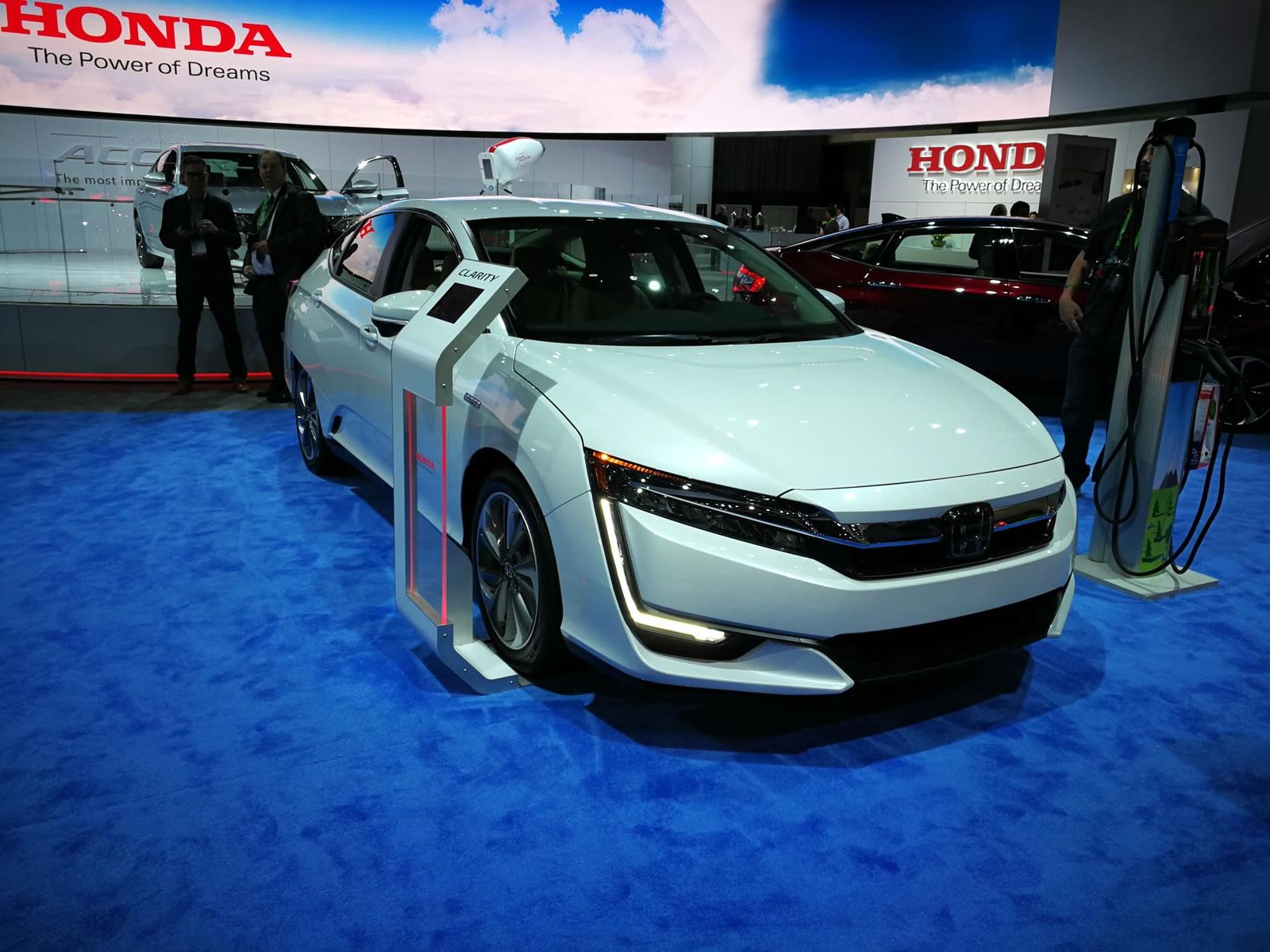 Honda Clarity elegido como Green Car of the Year 2018