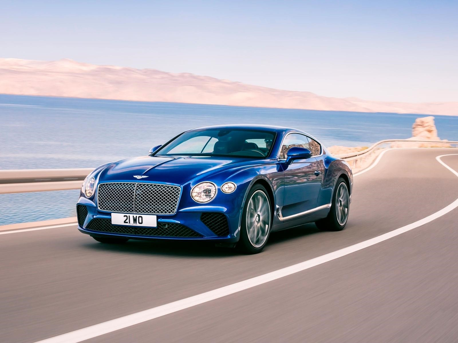 Bentley Continental GT 2018 se renueva