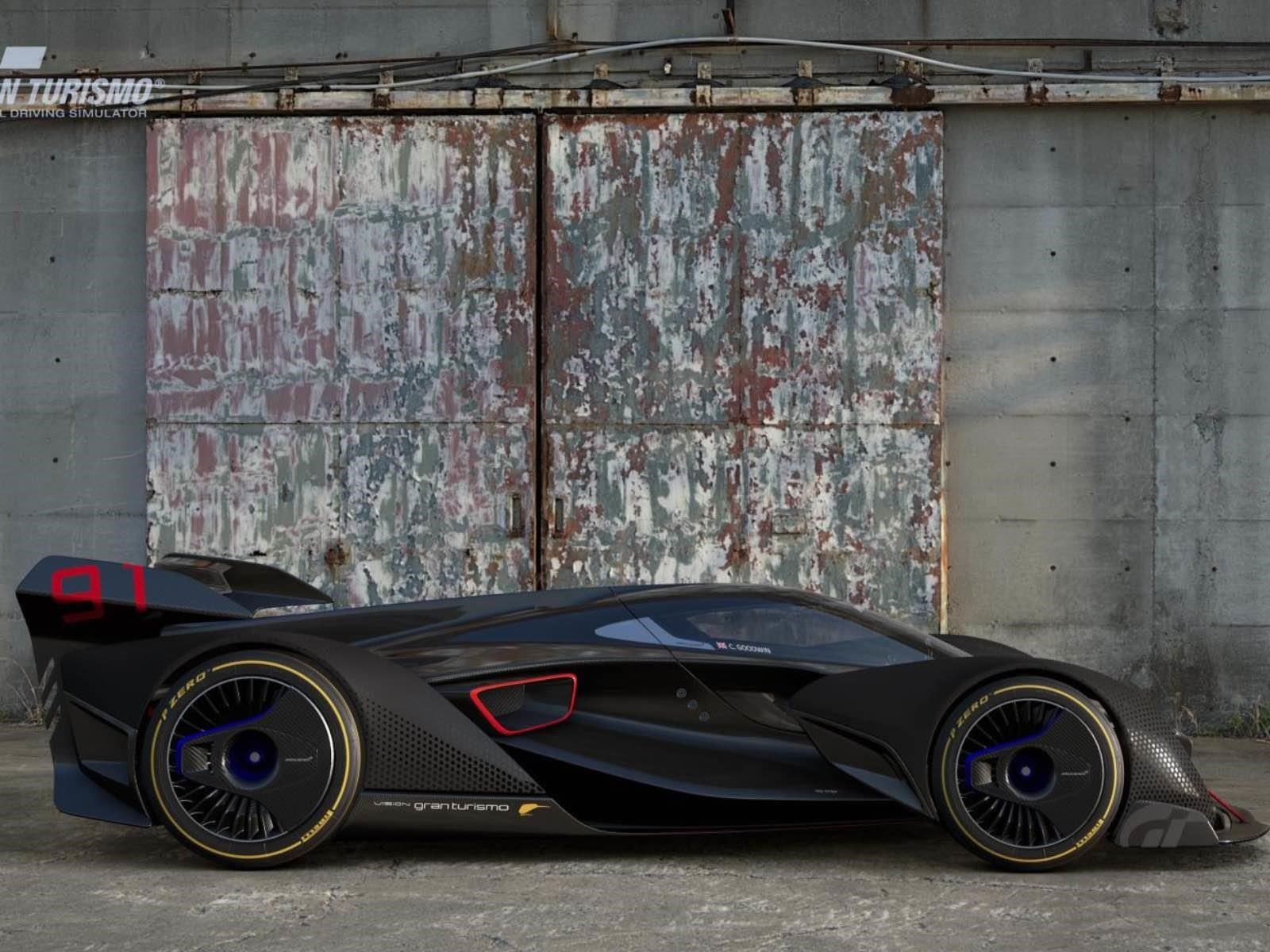 El McLaren virtual que adelanta lo que viene