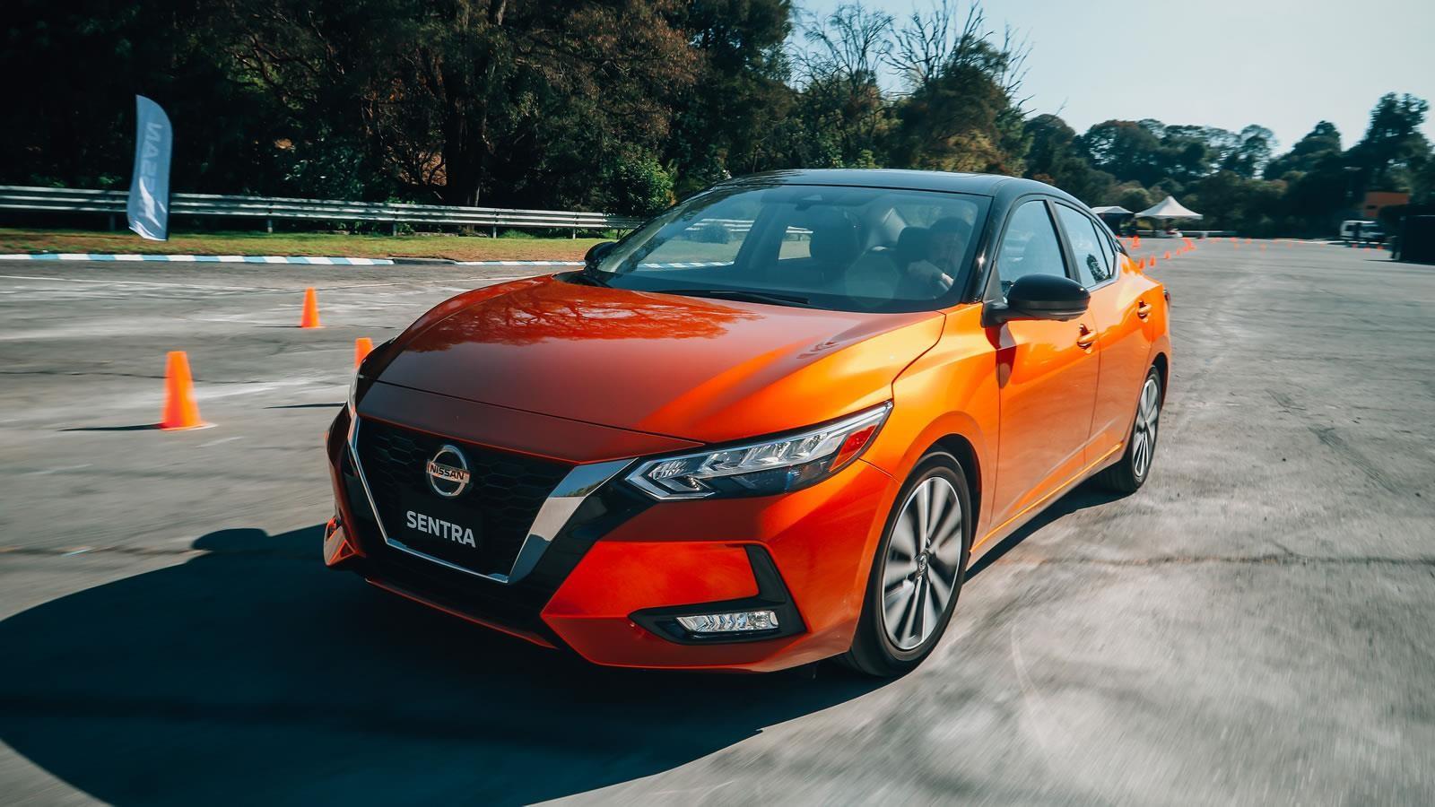 Test Nissan Sentra 2020, notable evolución