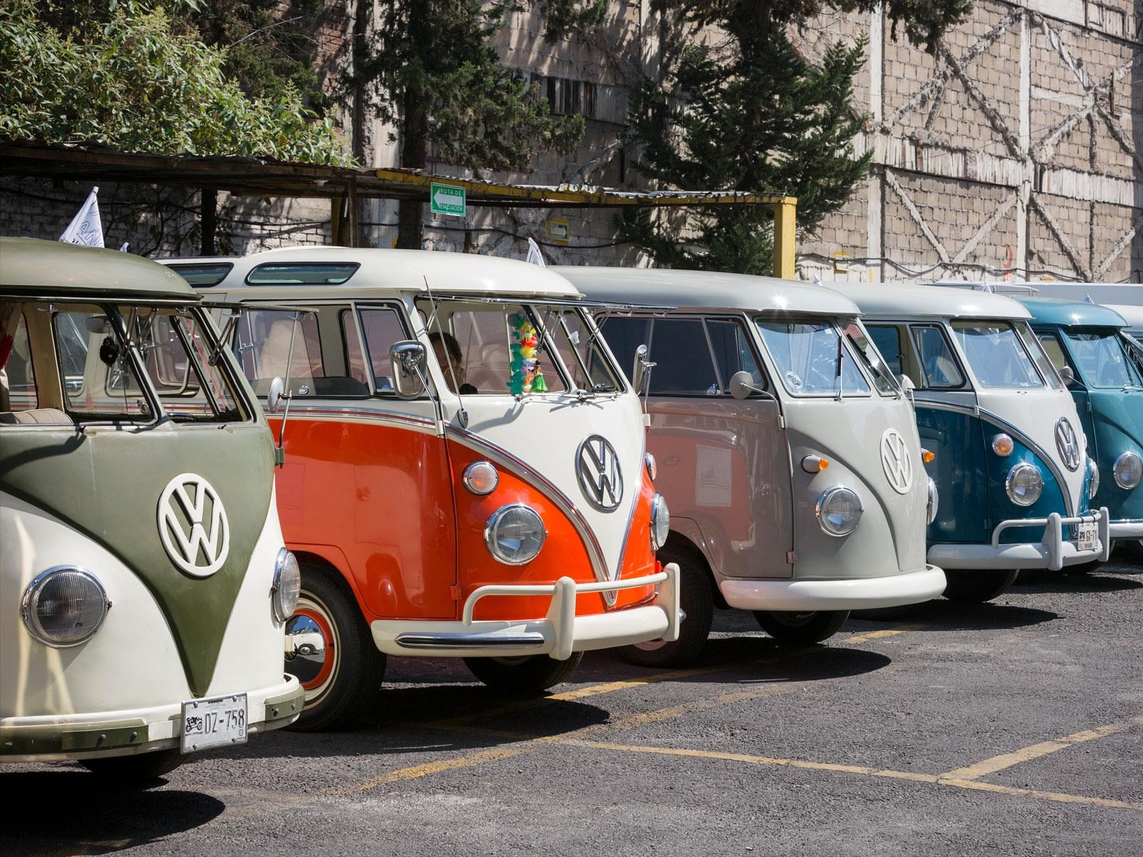 Volkswagen Kombi celebra su 70 aniversario