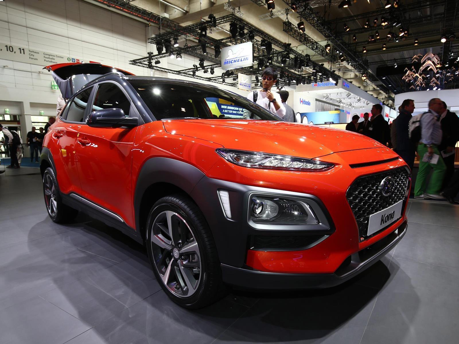 Hyundai Kona 2018 impone su estilo en Frankfurt