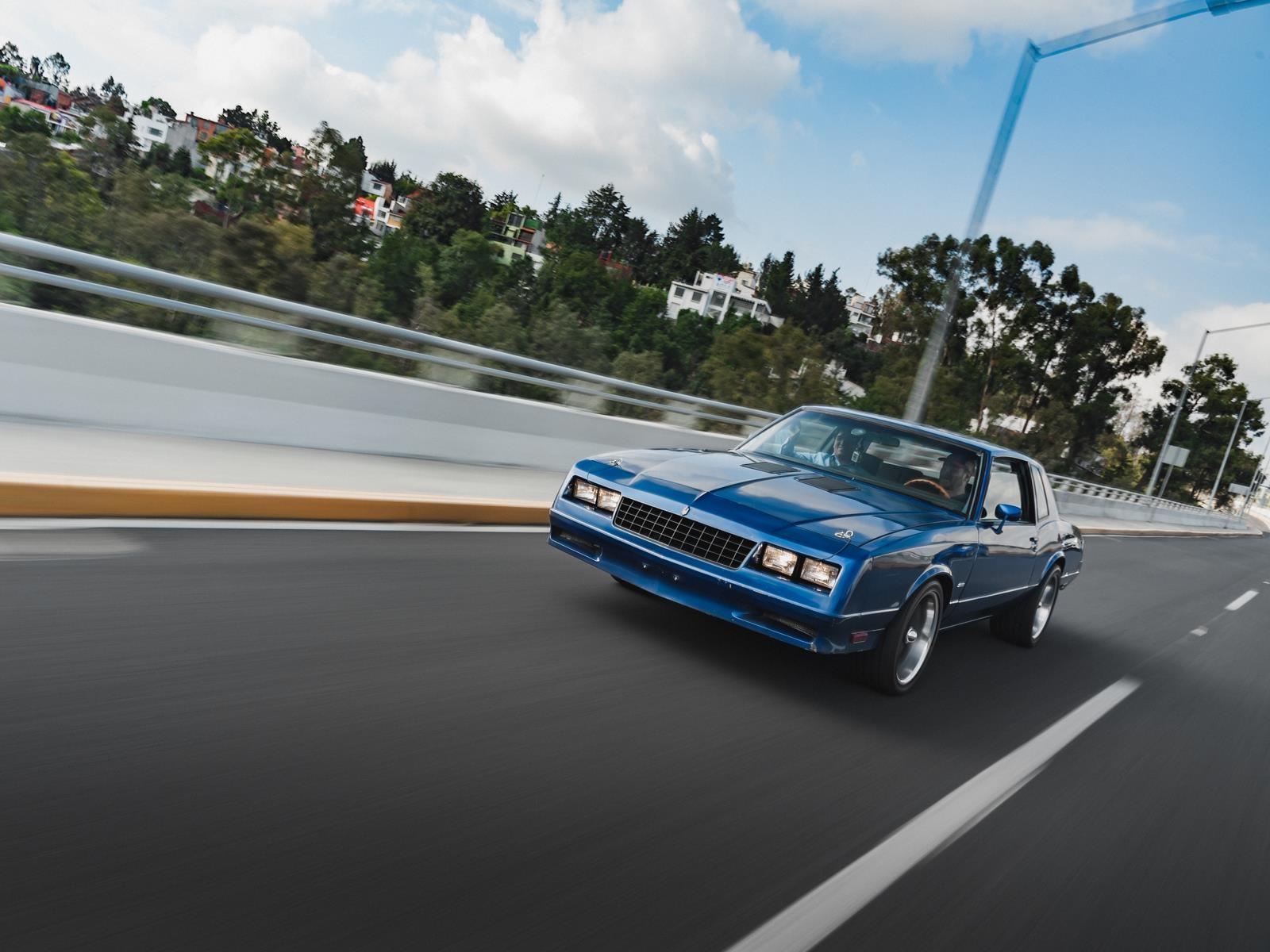 Chevrolet Monte Carlo SS, el último muscle car mexicano