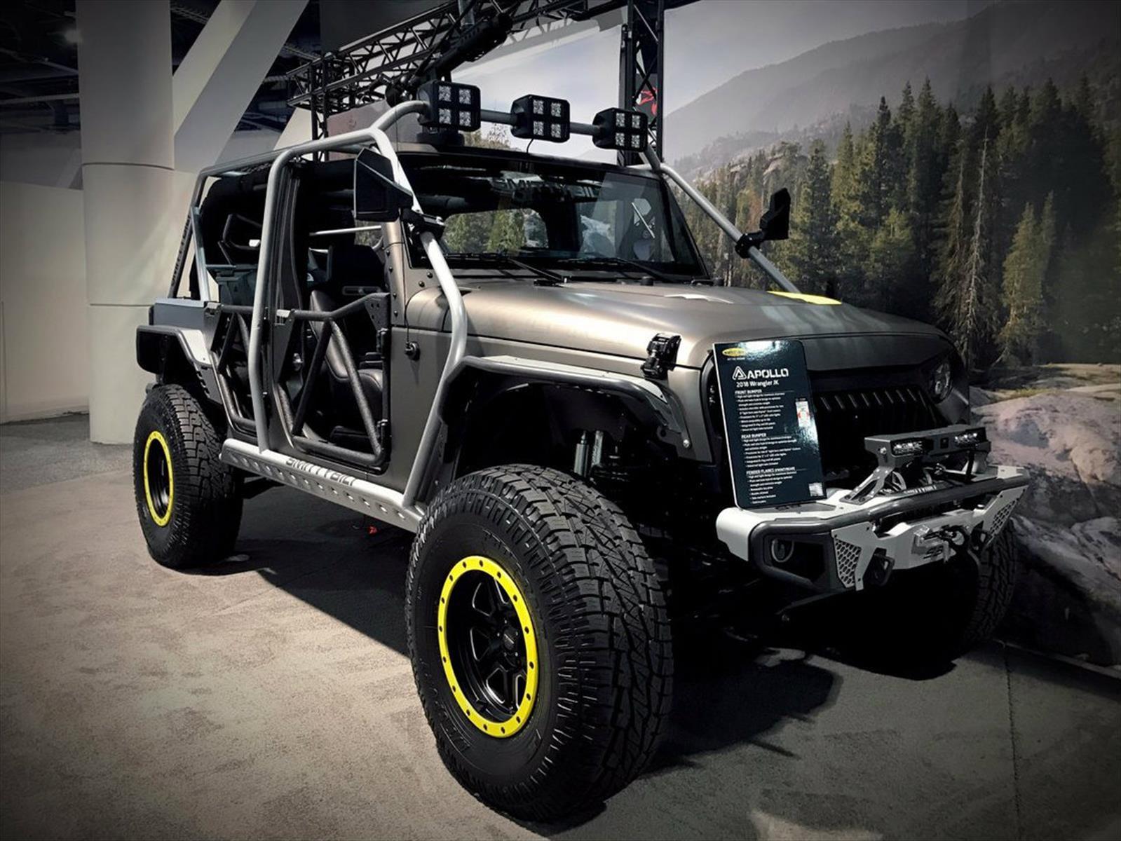 Jeep Wrangler Hellbender por Alpine debuta