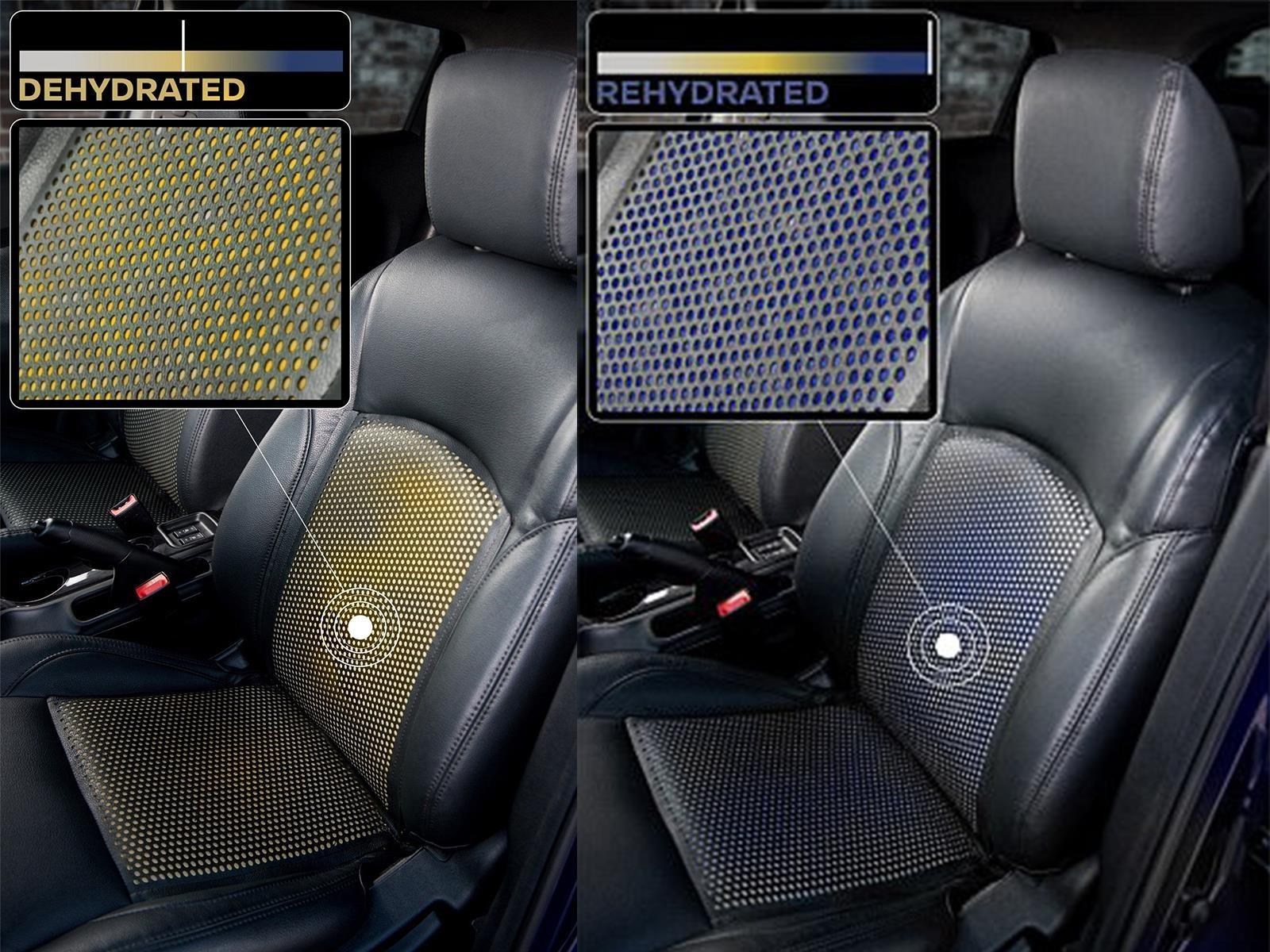 Nissan crea asientos y volante que detectan el sudor
