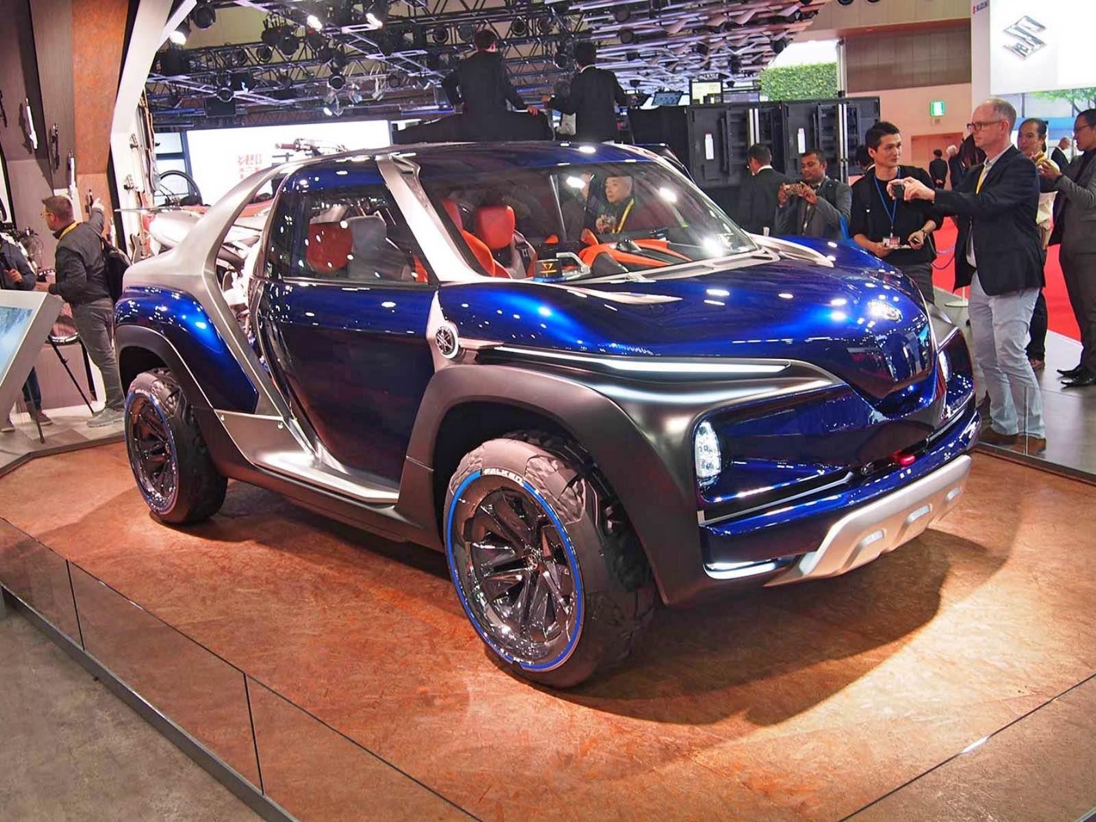 Yamaha Cross Hub Concept debuta