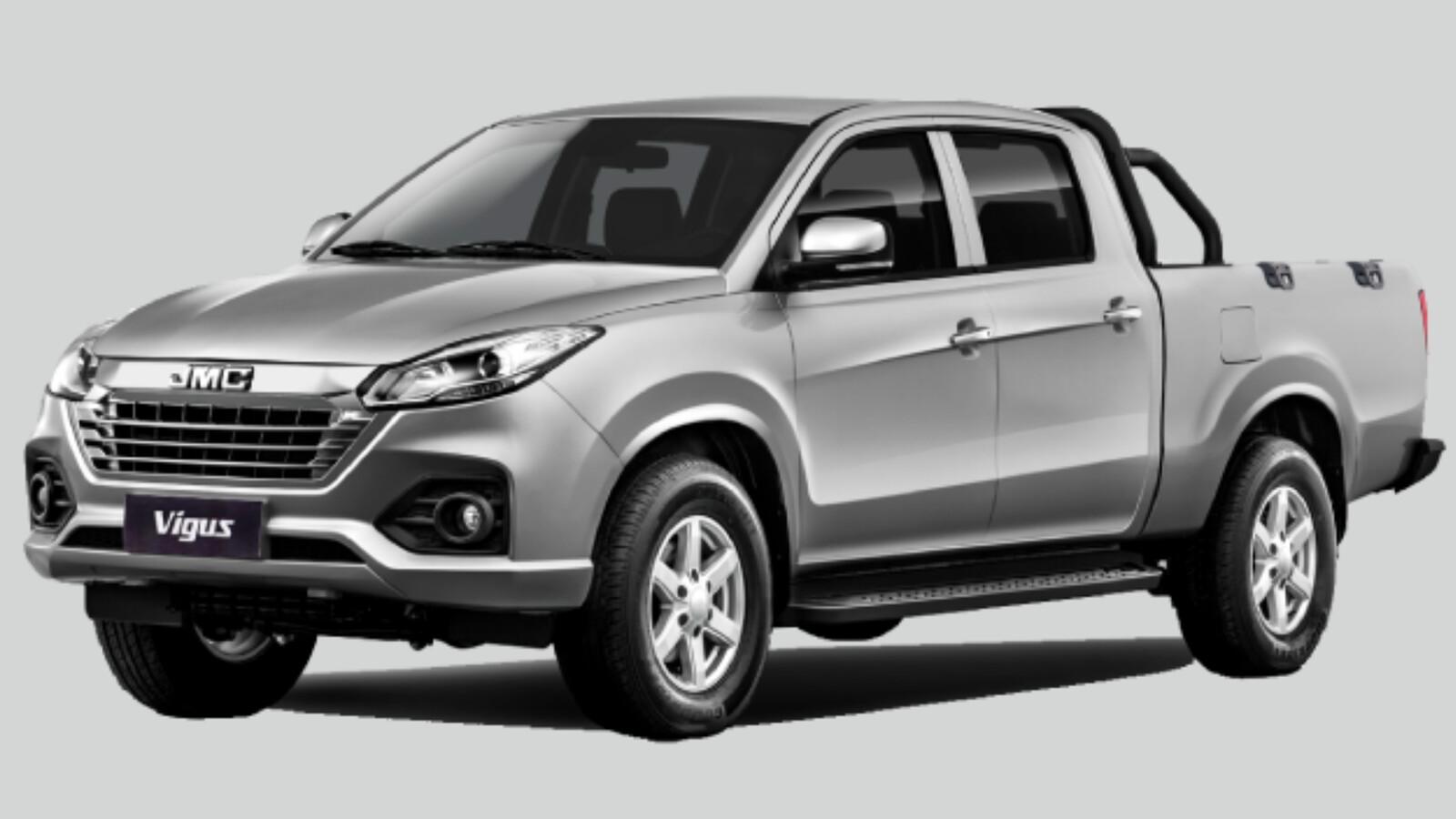 JMC Vigus 2022 llega a México, nueva cara para la rival china de Nissan NP300