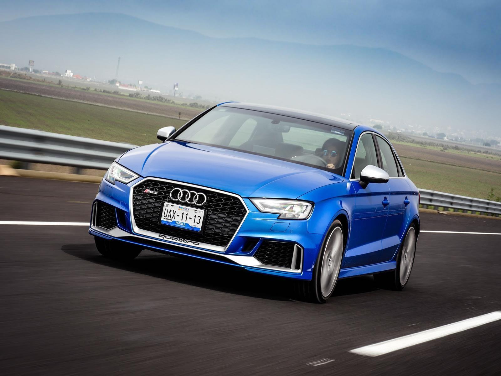 Manejamos el Audi RS3 Sedán 2018