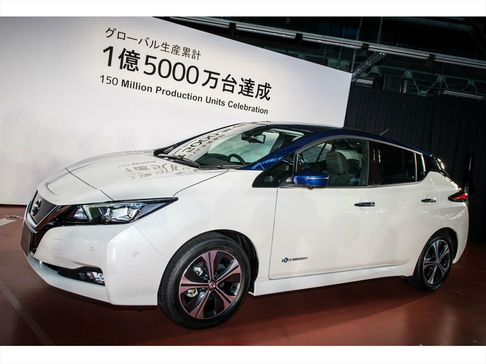 Nissan supera los 150 millones de vehículos producidos a nivel global