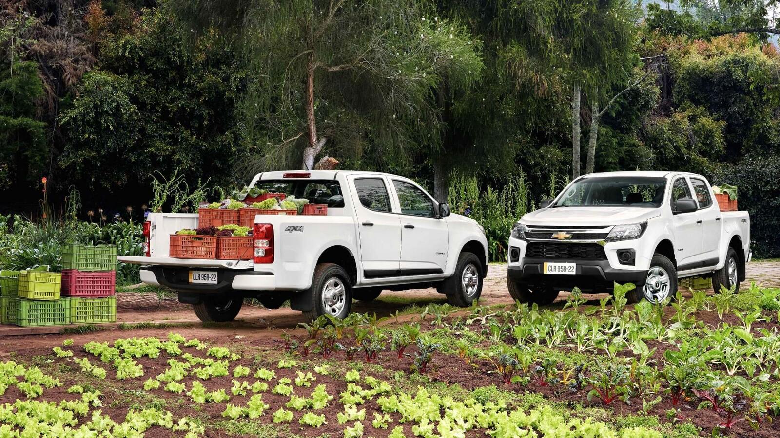 Chevrolet presenta en Colombia dos nuevas versiones de la Colorado