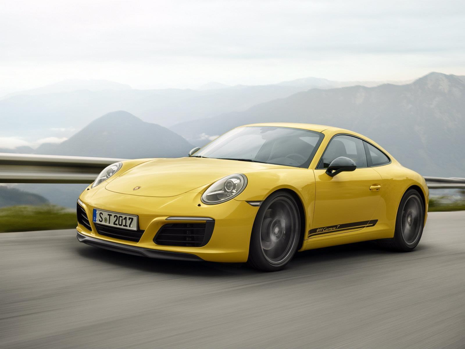 Porsche 911 Carrera T 2018 debuta