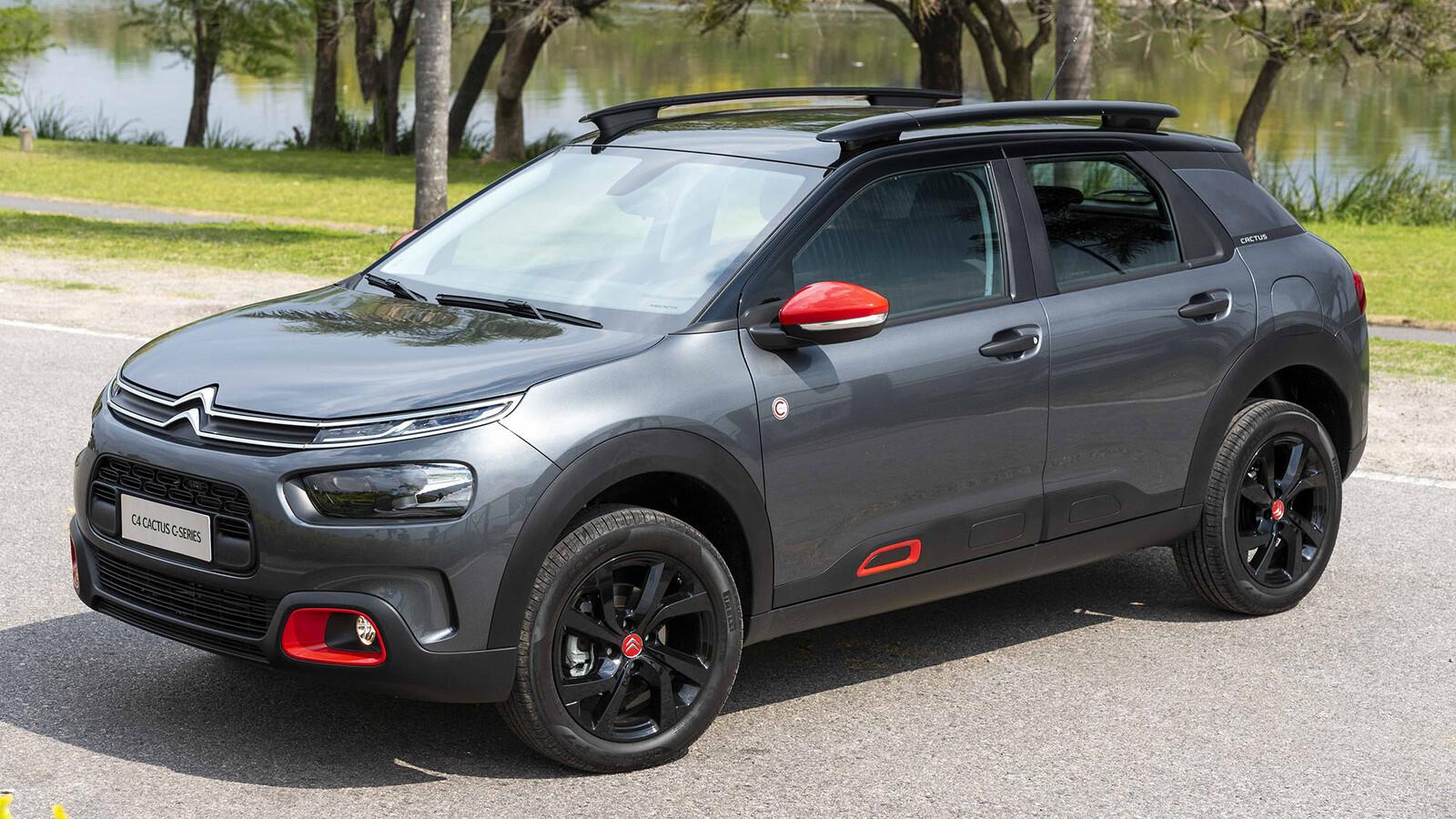 Citroën C4 Cactus C-Series en Argentina: diferencias y precios