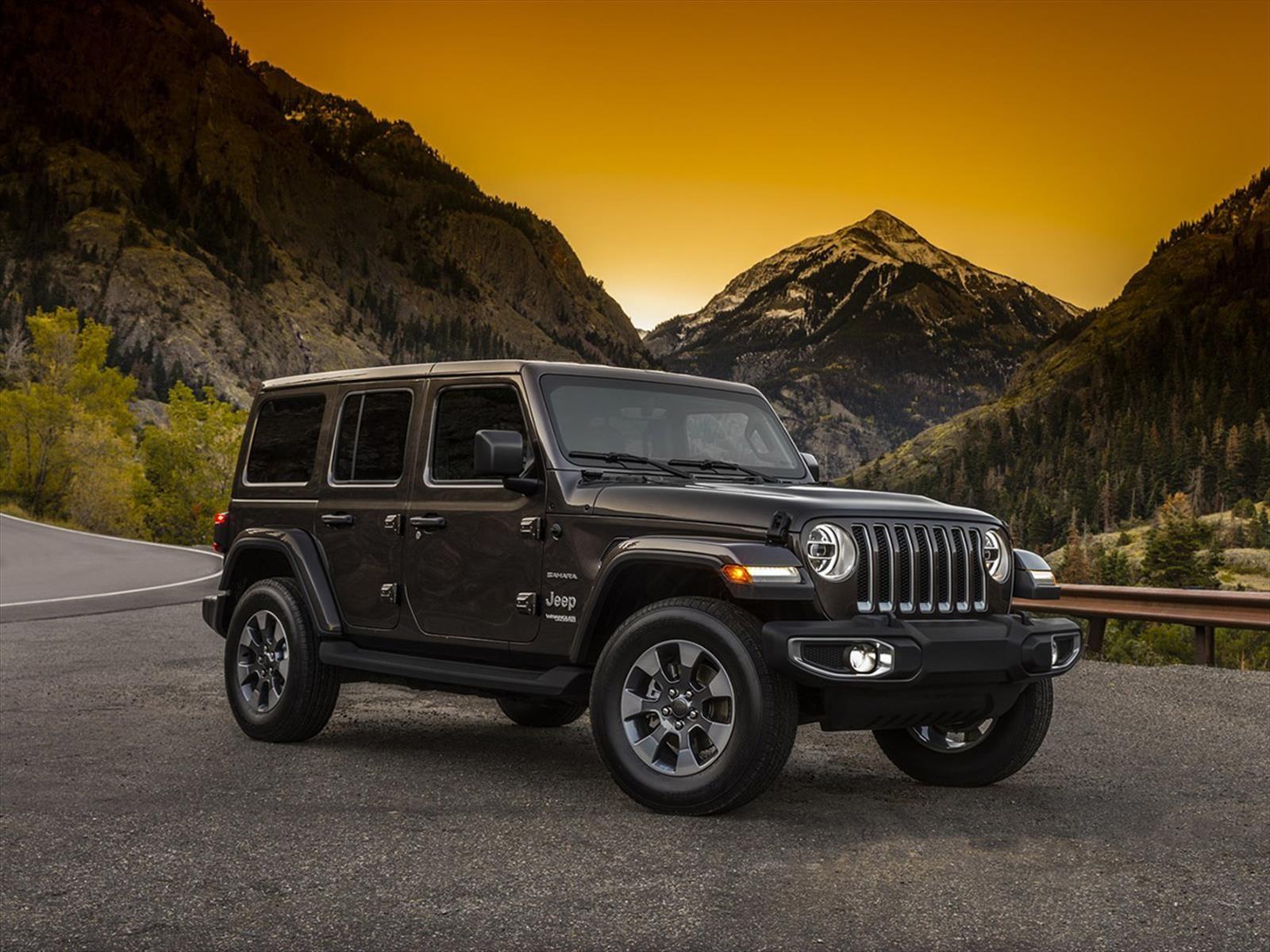 Jeep Wrangler 2018, primeras imágenes