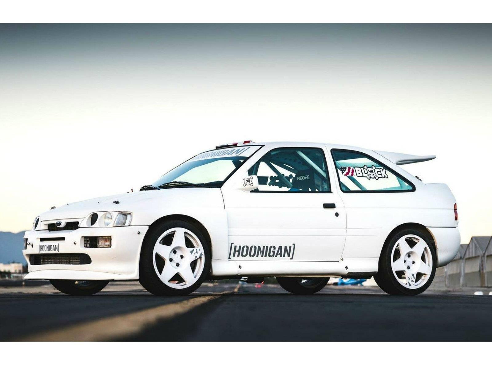 Ford Escort RS Cosworth 1991 es el nuevo juguete de Ken Block