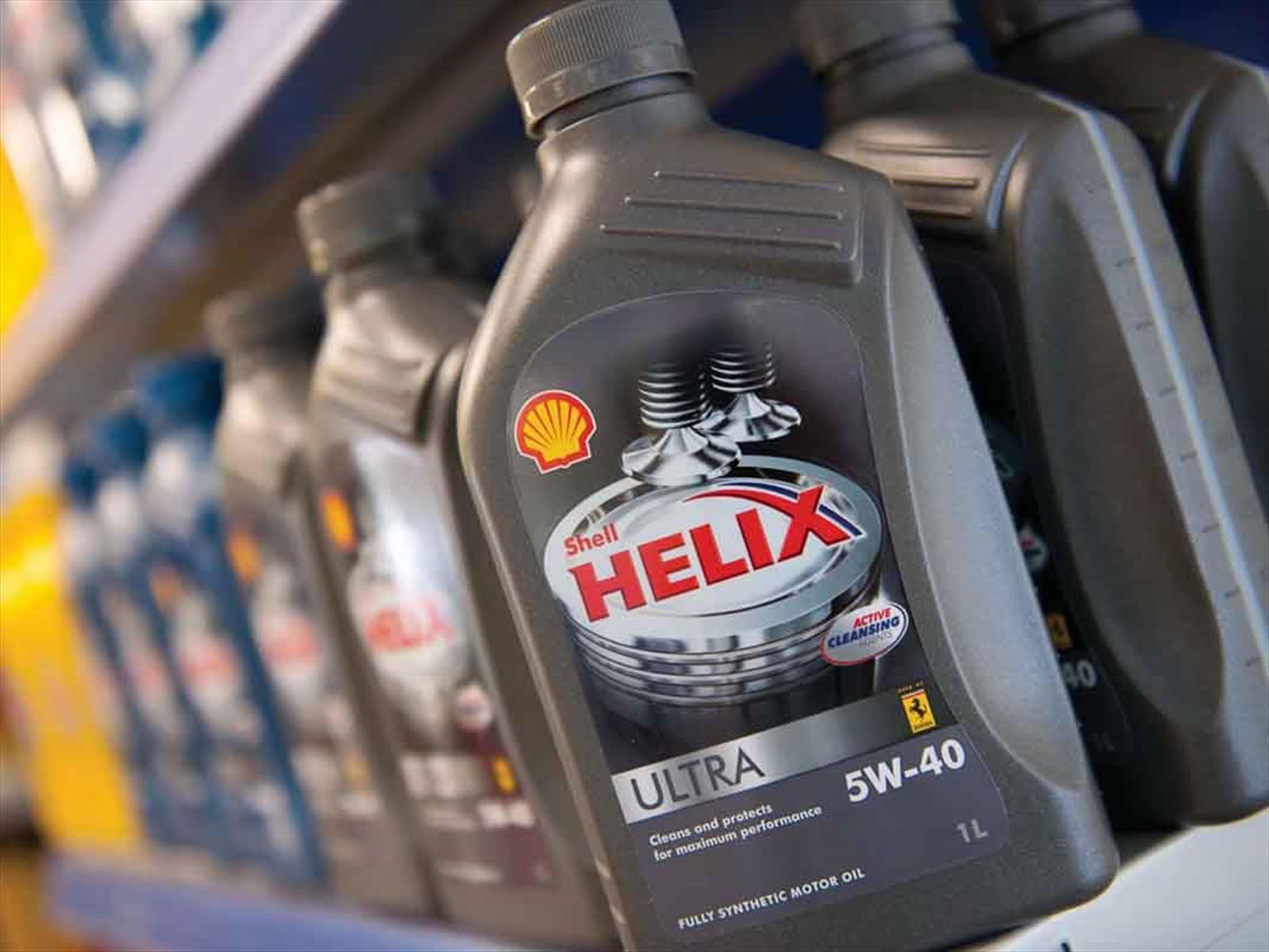 Shell, reconocida a nivel mundial por sus lubricantes