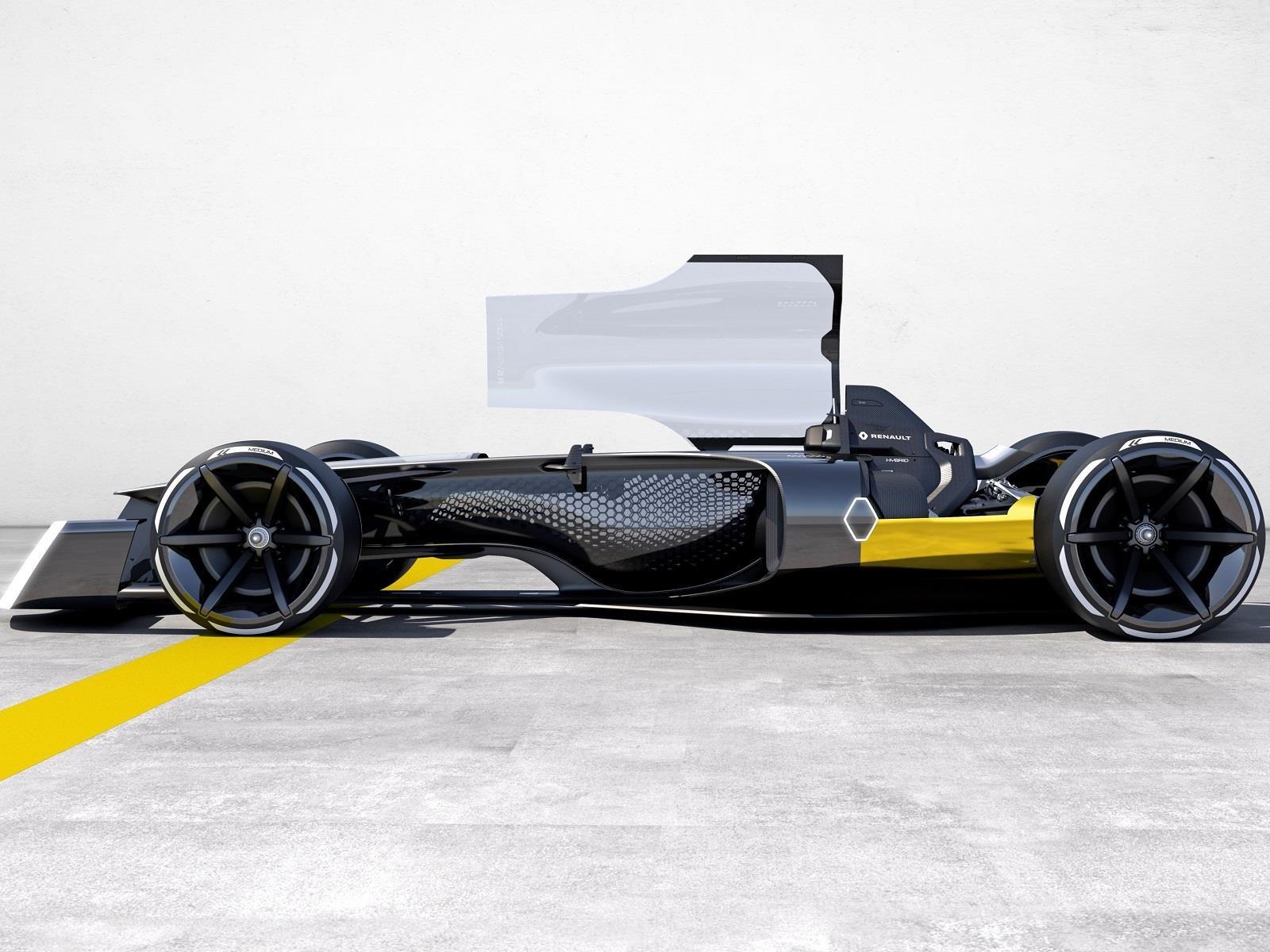 Renault R.S. 2027 Vision Concept, el monoplaza futurista