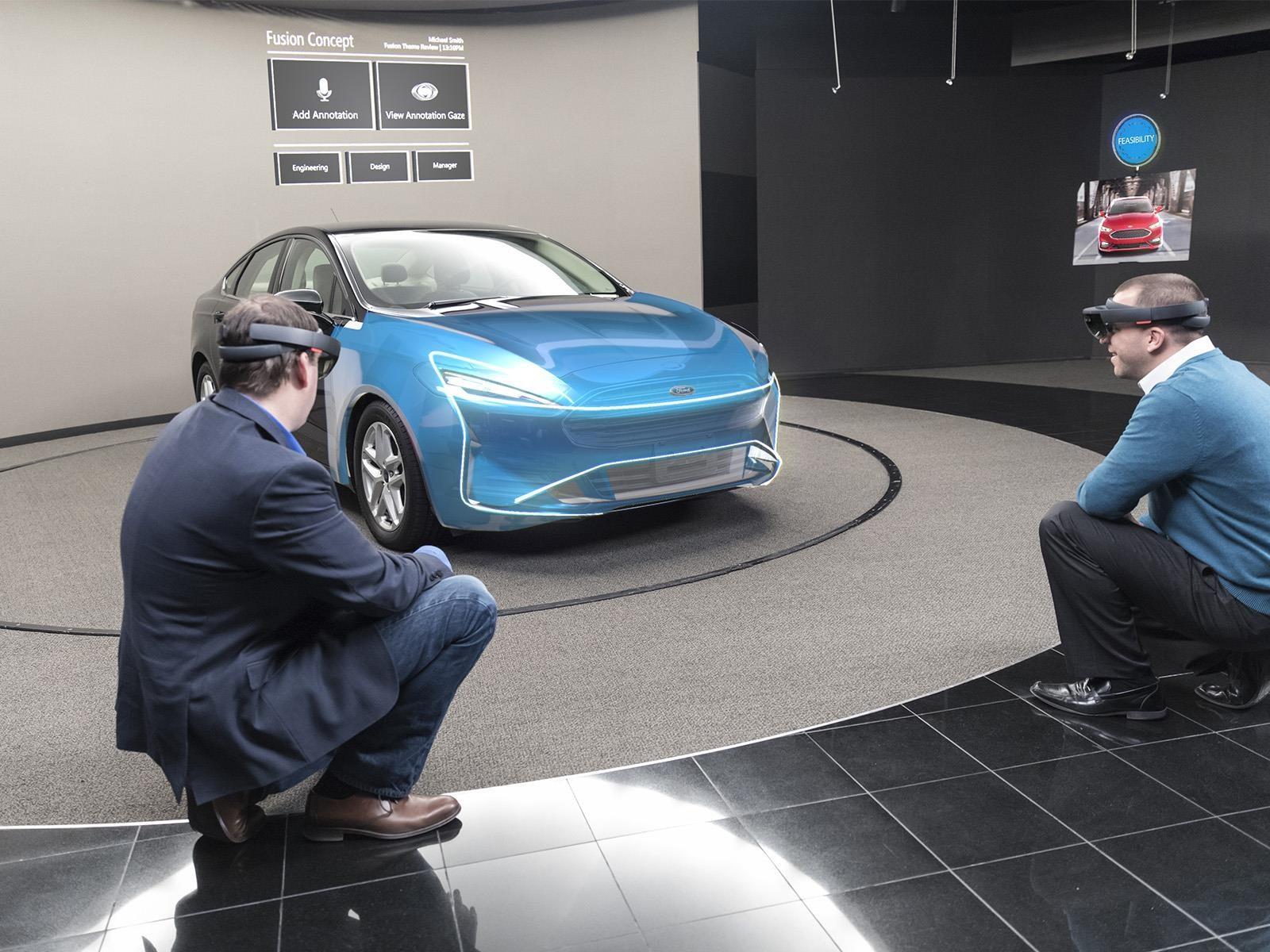 Ford usará realidad virtual para diseñar sus carros