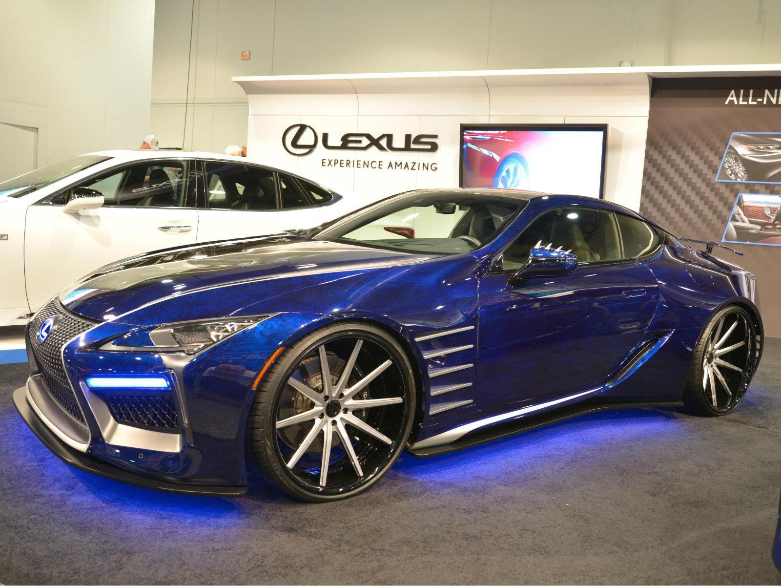 Lexus Black Panther Inspired LC de Wakanda debuta