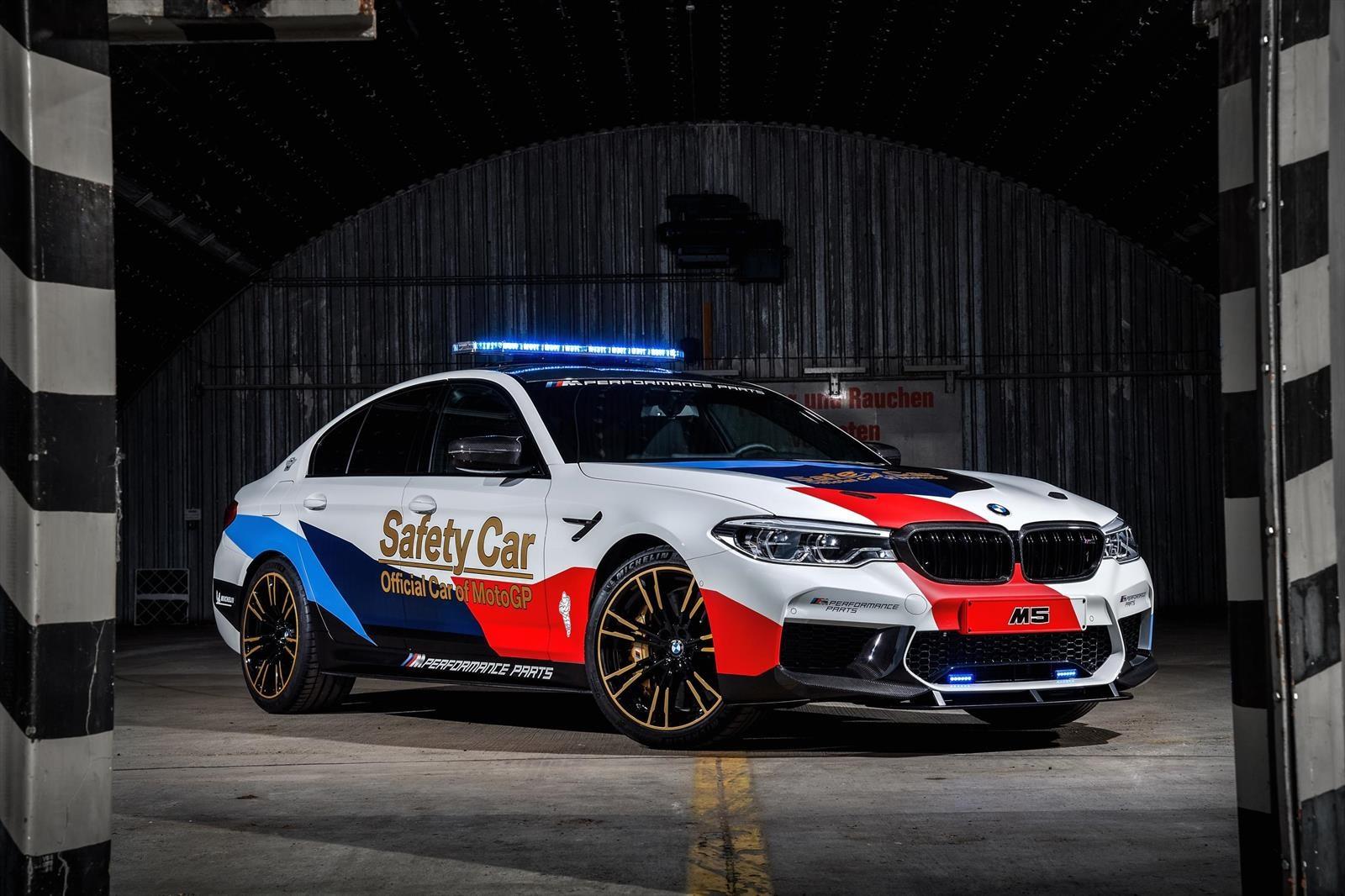 BMW M5 es el auto de seguridad para el MotoGP 2018