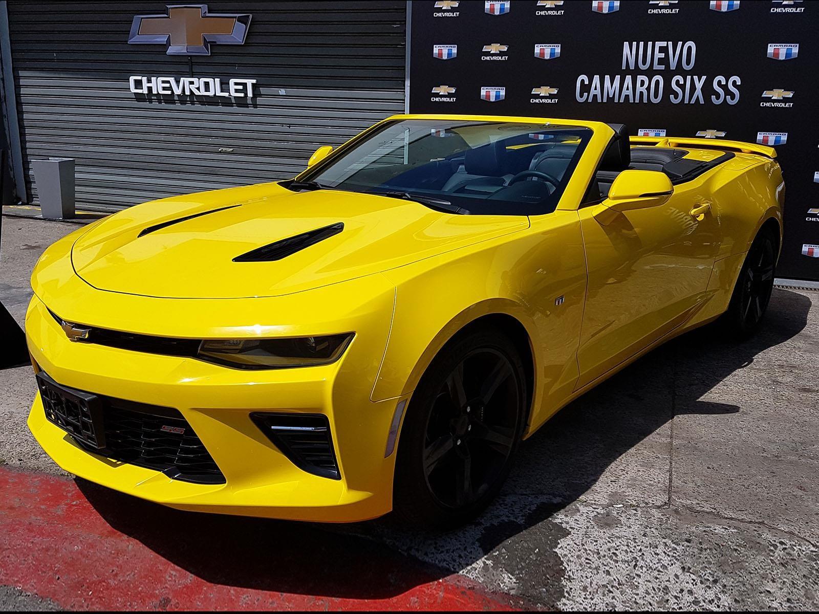 Nuevo Camaro SS coupé y cabrio se lanzan en Argentina