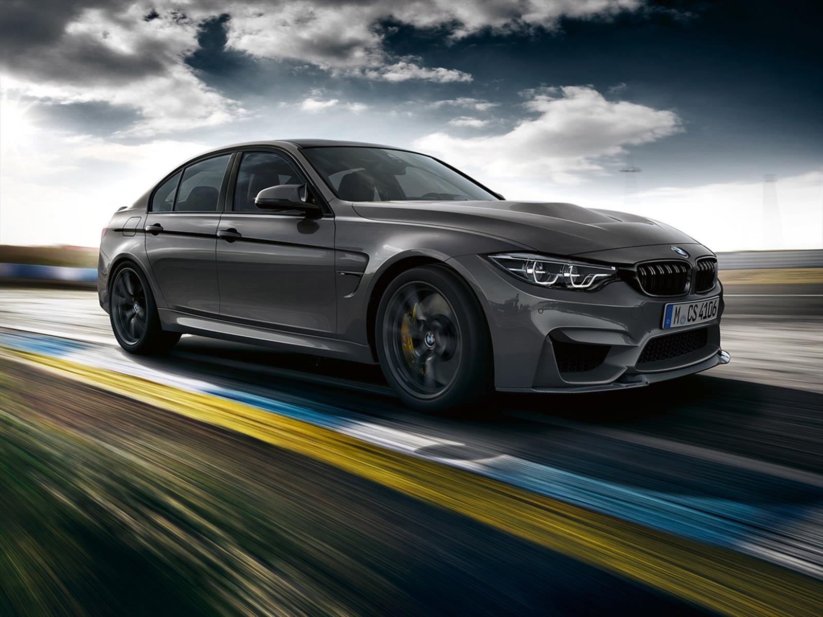 BMW M3 CS 2018 es un sedán lleno de poder