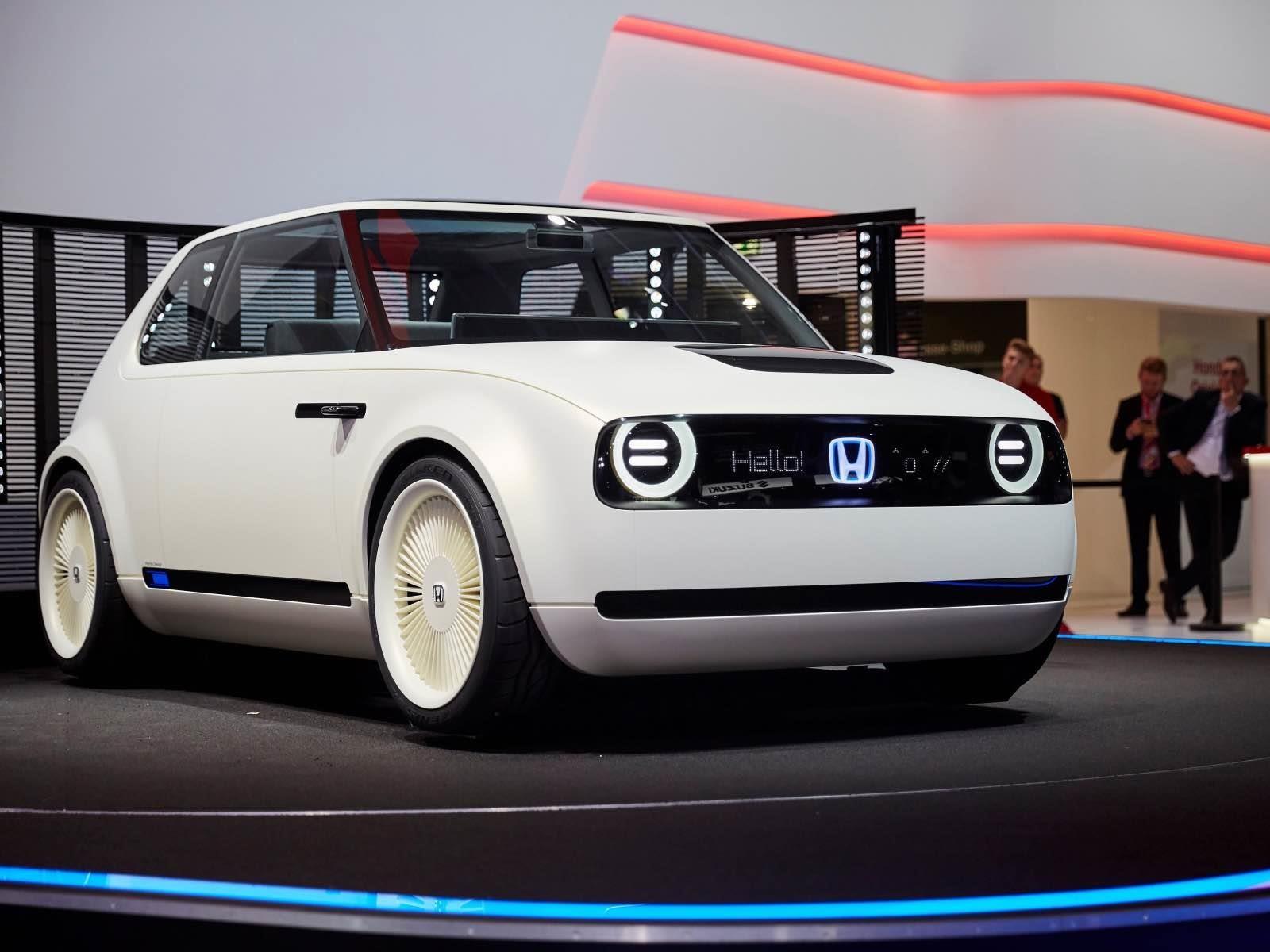 Honda Urban EV un propositivo eléctrico japonés