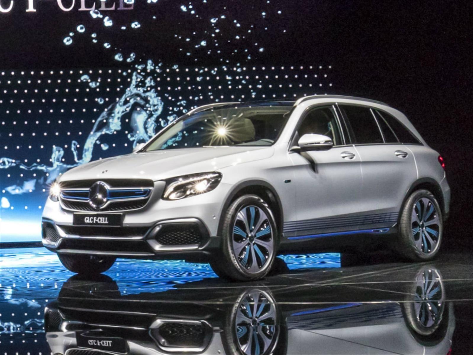 Mercedes-Benz GLC F-Cell, debuta con propulsión híbrida plug-in y pila de combustible