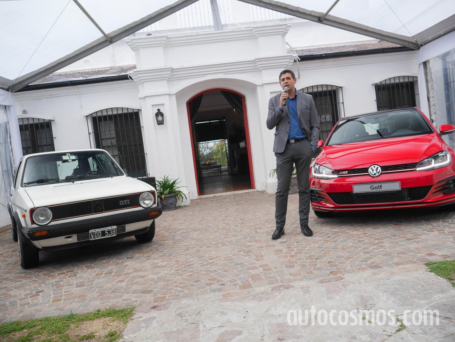 Volkswagen Argentina le dedicó un día al Golf