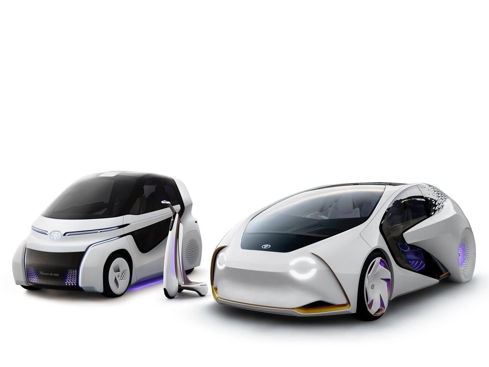 Toyota Concept-i debutan