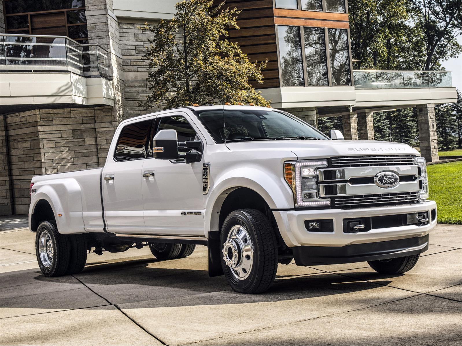 Ford F-Series Super Duty 2018: un camión de lujo