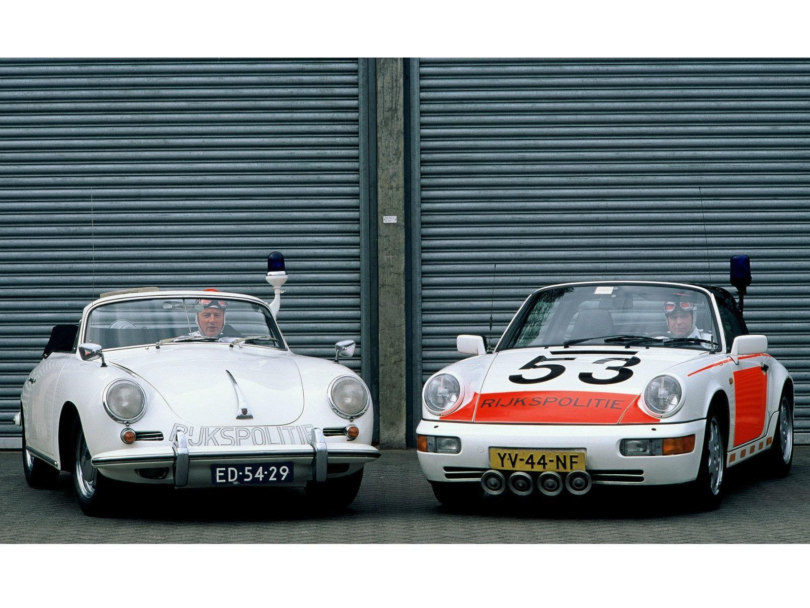 ¿Lo sabías?: En Países Bajos las patrullas son Porsche convertibles