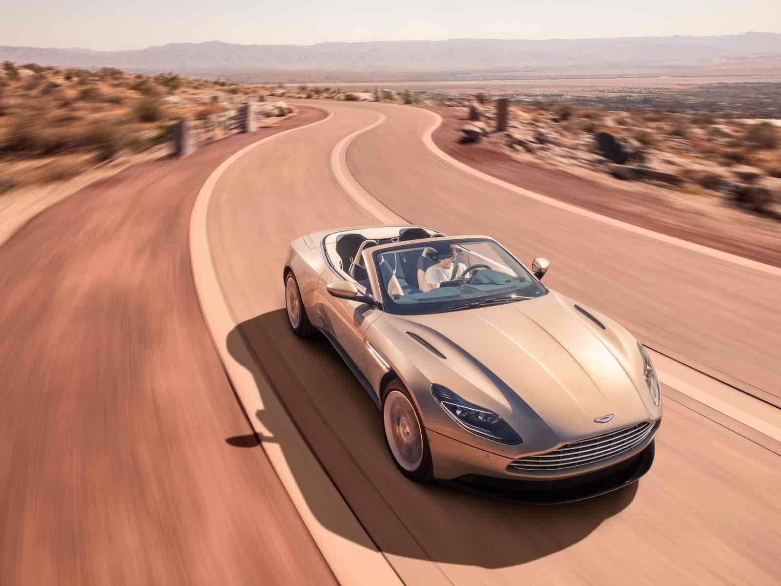 Aston Martin DB11 Volante, un convertible con más de 500 hp