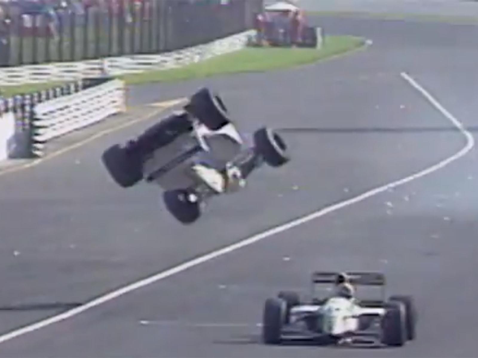 Los choques de Fórmula 1 más raros