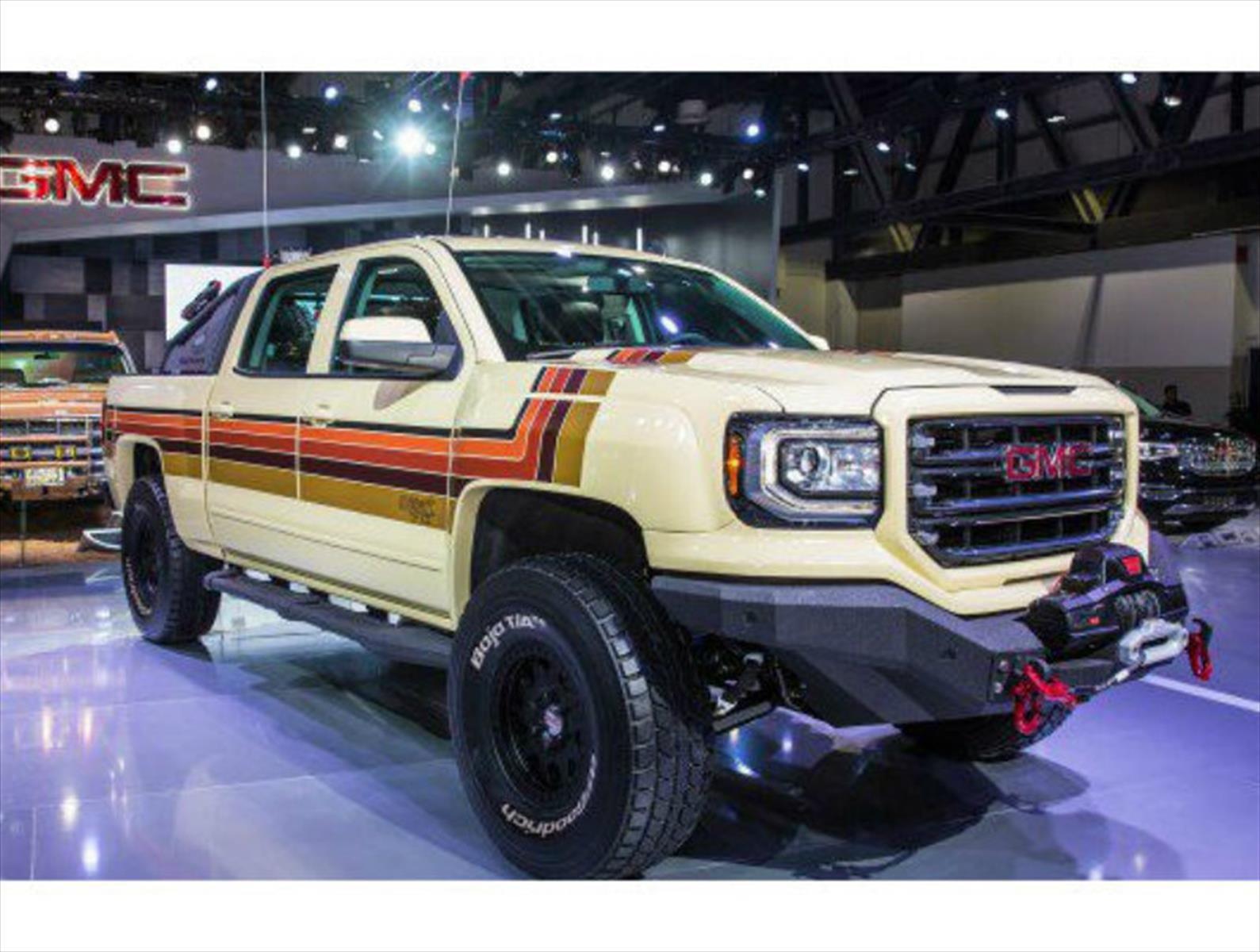 GMC Sierra Desert Fox Concept, toques retro para una pickup extrema