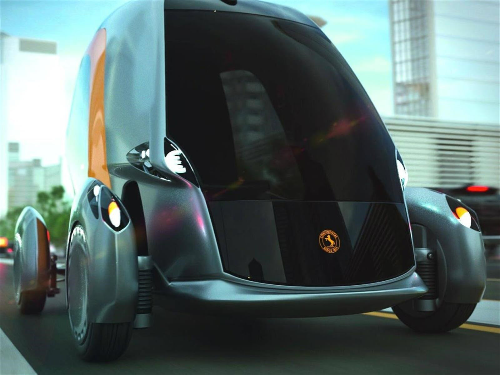 Continental BEE Concept es un ejemplo más de cómo podrían ser los autos del futuro