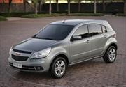 El nuevo Chevrolet Agile sin camuflaje