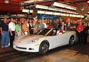 El Corvette llega al millón y medio de unidades producidas