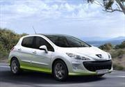 Autos verdes de Peugeot